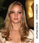 Small photo of LOS ANGELES - FEB 7: JENNIFER LAWRENCE arrives to the 83rd Academy Awards Nominees Luncheon on Feb 7, 2011 in Beverly Hills, CA