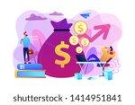 stock market investing  online...   Shutterstock .eps vector #1414951841