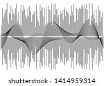 gray equalizer isolated on... | Shutterstock .eps vector #1414959314