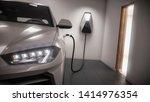 Charging Electric Car Generic...