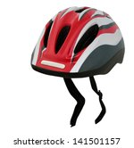 bicycle helmet isolated on white | Shutterstock . vector #141501157