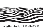 optical illusion wave. abstract ... | Shutterstock .eps vector #1415061941