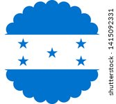 honduras flag illustration... | Shutterstock .eps vector #1415092331
