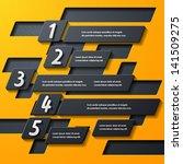 modern infographic  realistic... | Shutterstock .eps vector #141509275