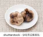 garlic that has been aged for a ...   Shutterstock . vector #1415128301