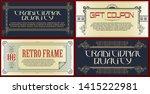 vector template flyer ...   Shutterstock .eps vector #1415222981