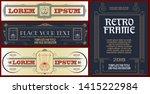 vector template flyer ...   Shutterstock .eps vector #1415222984