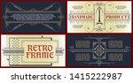 vector template flyer ...   Shutterstock .eps vector #1415222987