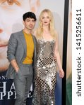 Small photo of Joe Jonas and Sophie Turner at the premiere of Amazon Prime Video's 'Chasing Happiness' held at the Regency Bruin Theatre in Westwood, USA on June 3, 2019.