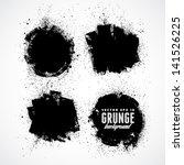 grunge background. watercolor...   Shutterstock .eps vector #141526225