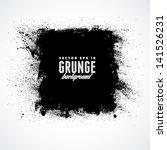 grunge background. watercolor... | Shutterstock .eps vector #141526231