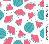 vector seamless pattern with... | Shutterstock .eps vector #1415263181