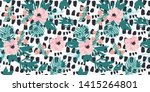 painting illustration with... | Shutterstock . vector #1415264801