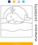 educational children game....   Shutterstock .eps vector #1415304701