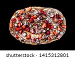 top view image of rome pizza... | Shutterstock . vector #1415312801