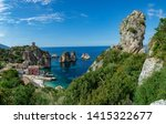 scenic coastline with rocks and ...   Shutterstock . vector #1415322677