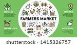 vector farmers market icon... | Shutterstock .eps vector #1415326757
