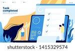 online test landing. internet... | Shutterstock .eps vector #1415329574