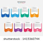 business infographic template... | Shutterstock .eps vector #1415360744