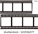 film  movie  photo  filmstrip ... | Shutterstock .eps vector #141536377