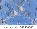 high voltage post.high voltage... | Shutterstock . vector #141536545