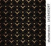 art deco pattern. seamless...   Shutterstock .eps vector #1415435297