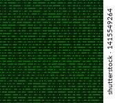 binary code. seamlessly... | Shutterstock .eps vector #1415549264