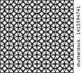 design seamless monochrome... | Shutterstock .eps vector #1415594741