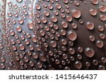 close up drops of water on... | Shutterstock . vector #1415646437