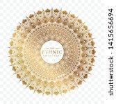 elegant ornamental mandala...   Shutterstock .eps vector #1415656694