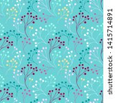 seamless pattern with abstract... | Shutterstock .eps vector #1415714891