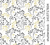 seamless pattern with abstract... | Shutterstock .eps vector #1415717834