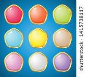 gems pentagon 9 colors for...