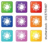 sun icon. simple illustration...