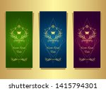 set template flyers  from ... | Shutterstock .eps vector #1415794301