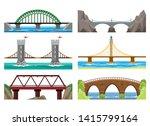 Bridges Color Illustration....