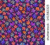 seamless flowers   Shutterstock .eps vector #141582325