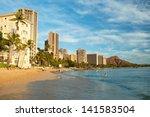 oahu  hi   september 22  2011   ... | Shutterstock . vector #141583504