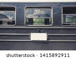 old vintage railway carriages.... | Shutterstock . vector #1415892911