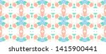 endless boho ornament. colorful ... | Shutterstock . vector #1415900441