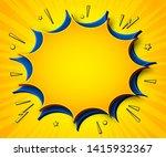 comics background. cartoon...   Shutterstock .eps vector #1415932367