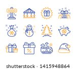 surprise gift  holiday presents ... | Shutterstock .eps vector #1415948864