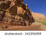 Scenic Zion National Park In...