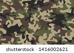 full seamless abstract military ... | Shutterstock .eps vector #1416002621