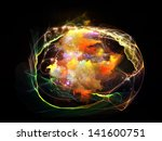 abstract design made of... | Shutterstock . vector #141600751