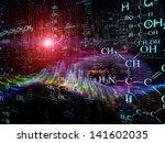 science series. arrangement of... | Shutterstock . vector #141602035