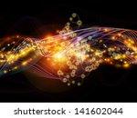 creative arrangement of lights  ...   Shutterstock . vector #141602044