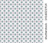 seamless vector pattern in... | Shutterstock .eps vector #1416021914