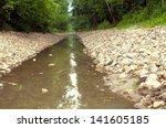 Straight Stream In The Rocks I...