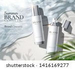 moisturizing skincare spray ads ... | Shutterstock .eps vector #1416169277